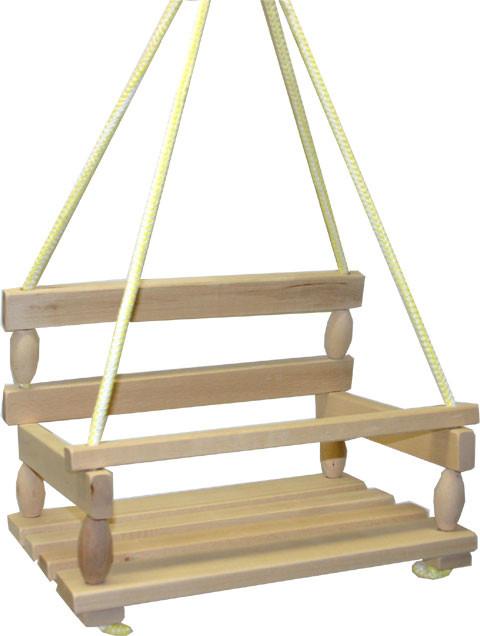 Dřevěná houpačka UNI