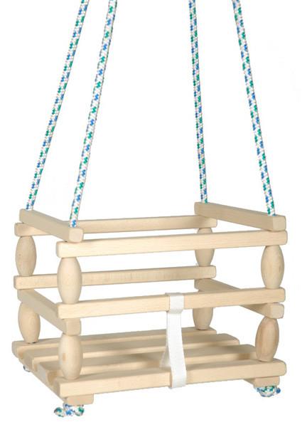Dřevěná houpačka Baby