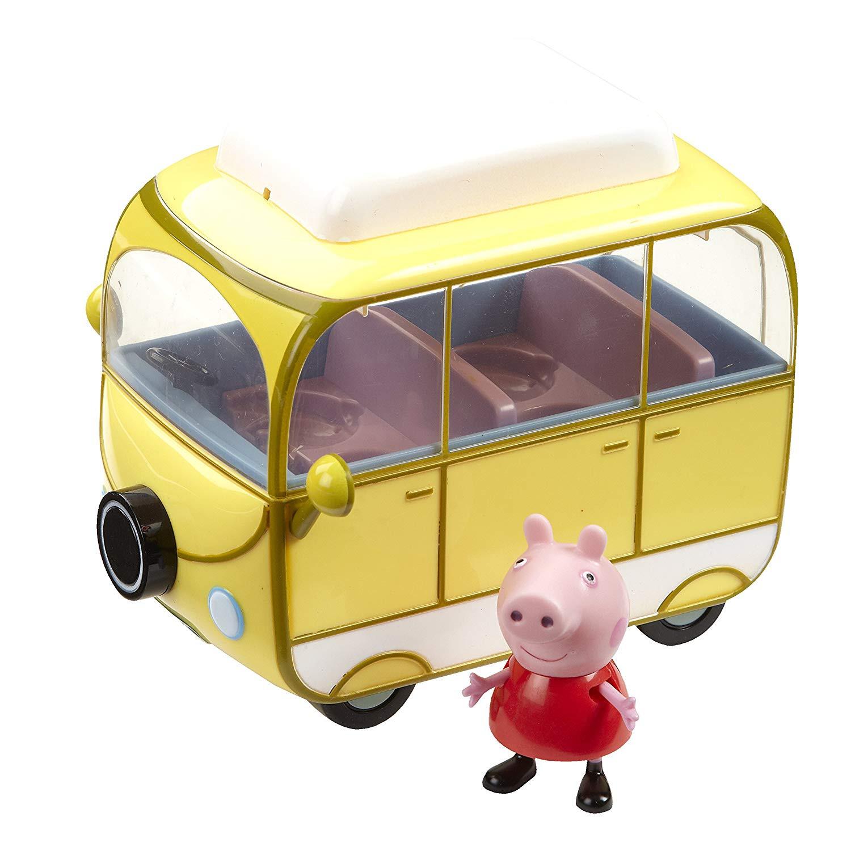 Karavan / Kempingový vůz Prasátko Peppa s figurkou