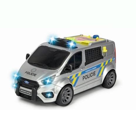 Policejní auto Ford Transit česká verze