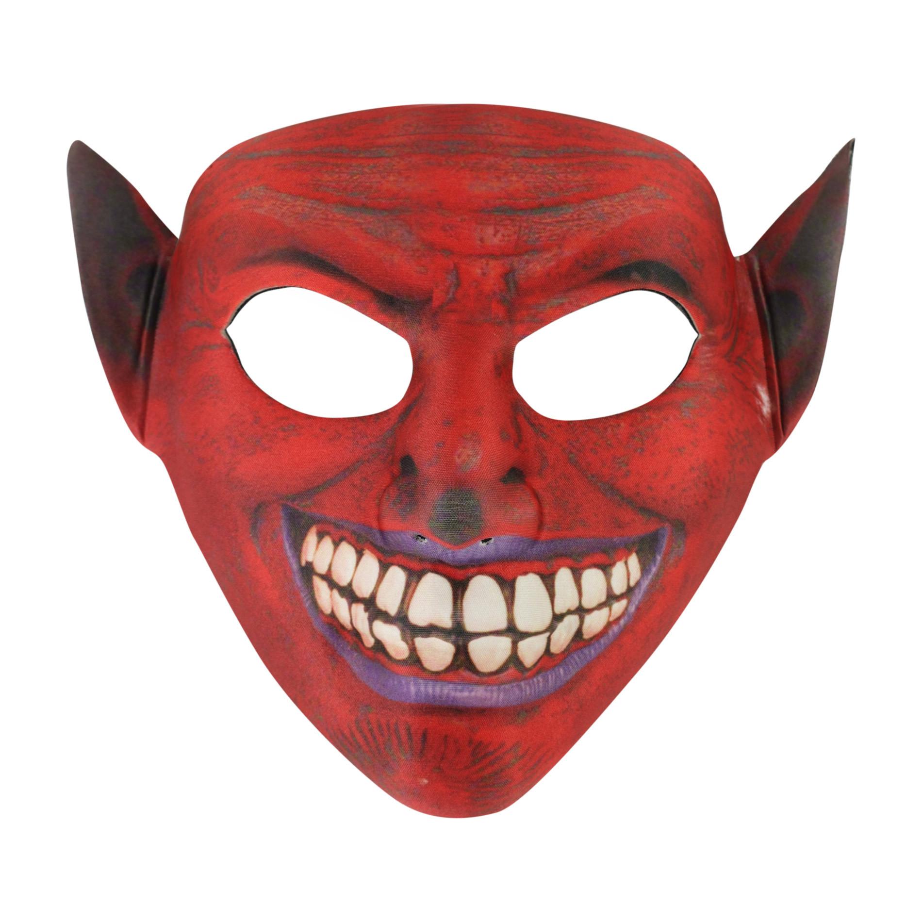 Maska čert textilní