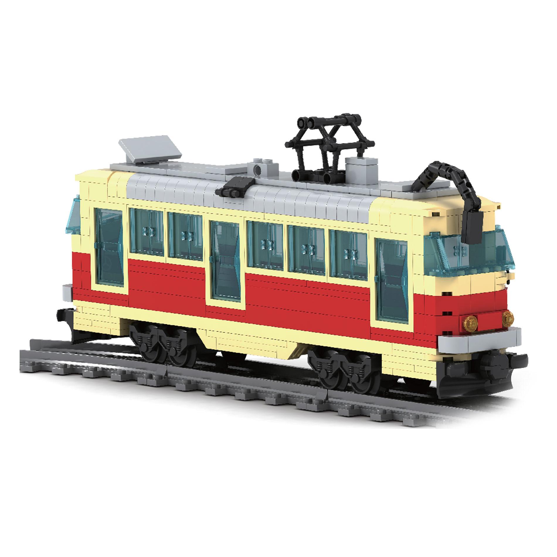 Stavebnice tramvaj 381 dílů