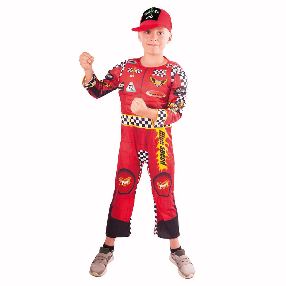 Dětský kostým závodník (M)