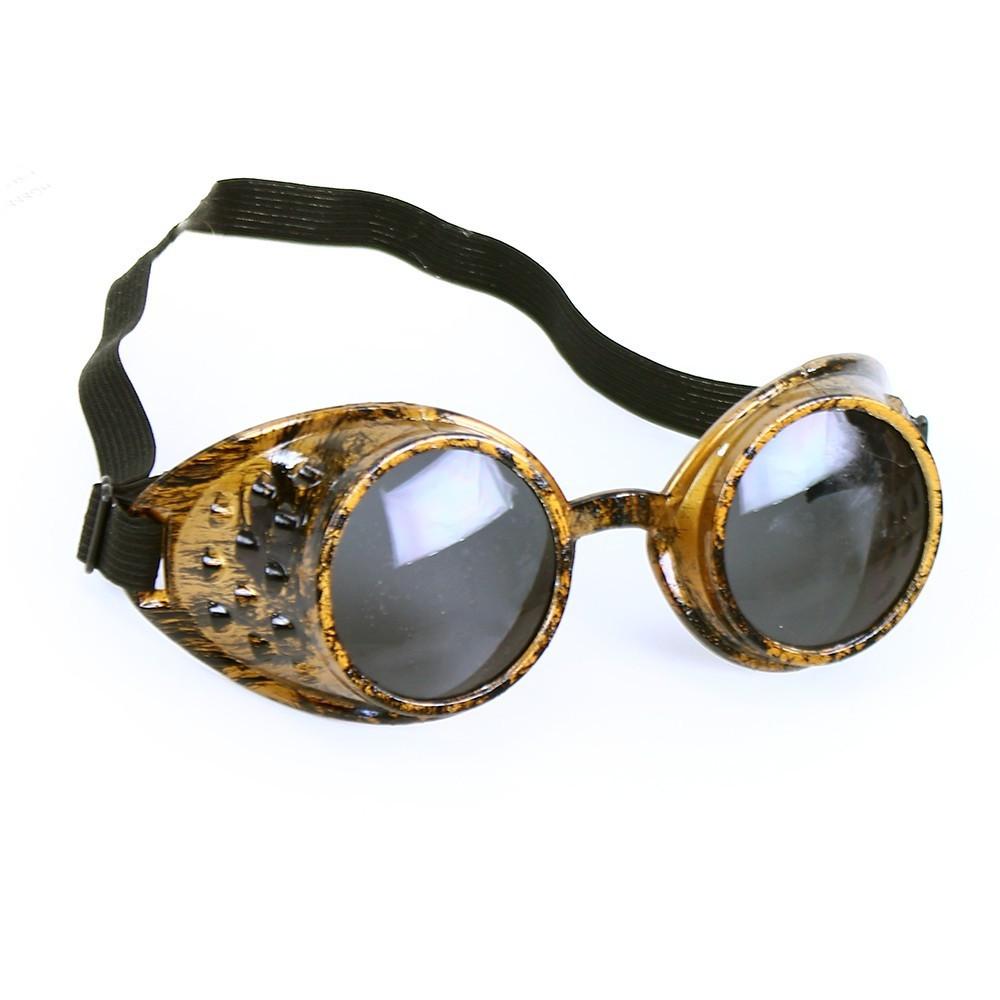 brýle letecké zlaté retro