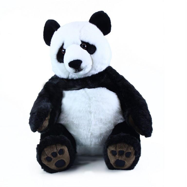 Velká plyšová panda sedící, 61 cm