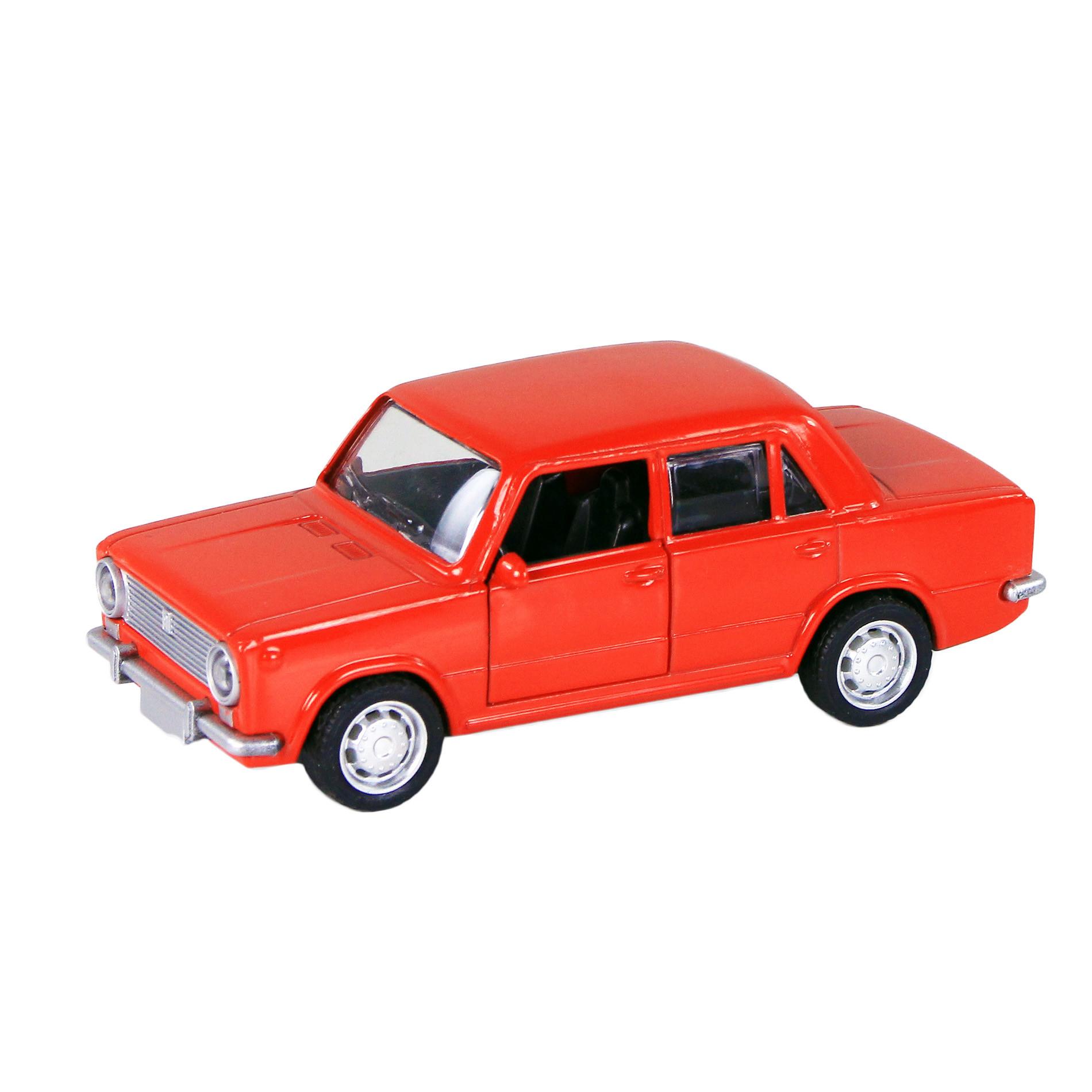 Auto kovové LADA 3 druhy (Seat/Fiat 124)