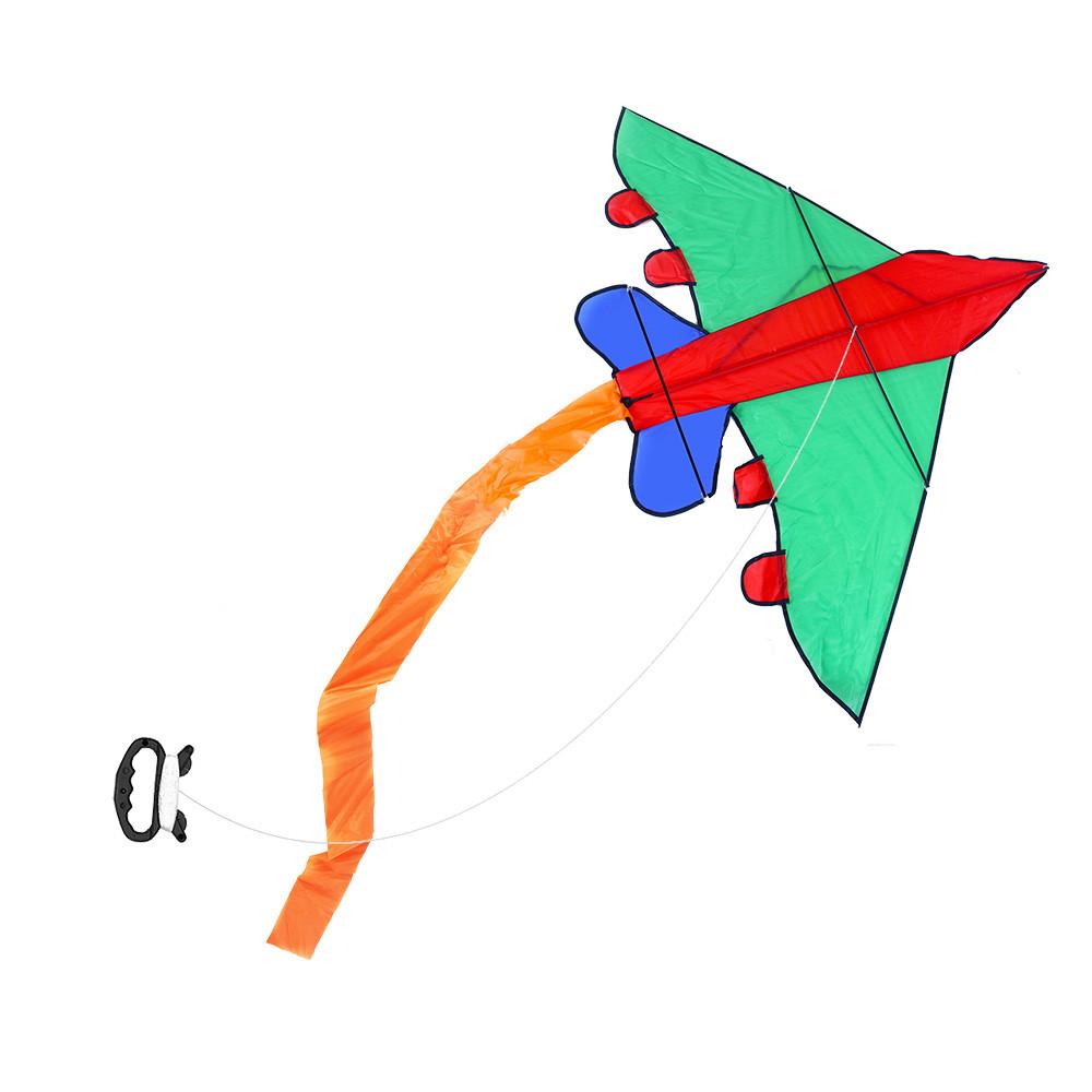 Létající drak letadlo nylonový, 140x98 cm