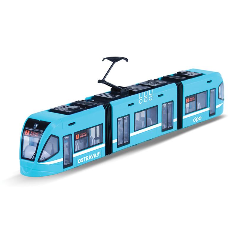 moderní tramvaj s otevíracími dveřmi, 47 cm