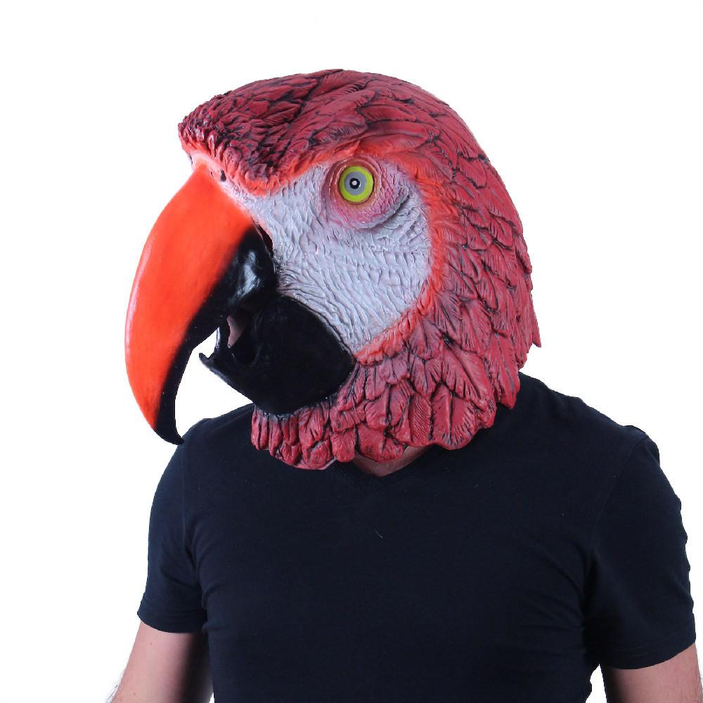 Maska pro dospělé papoušek