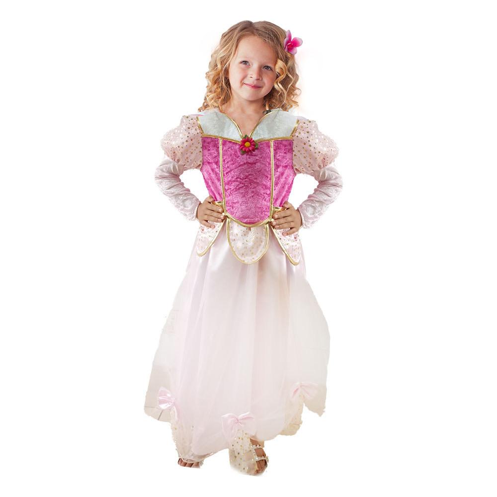 Dětský kostým princezna Květinka (M)