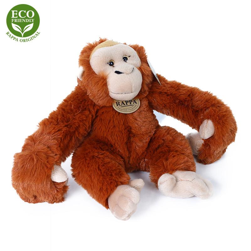 Plyšový orangutan / opice závěsný 20 cm ECO-FRIENDLY