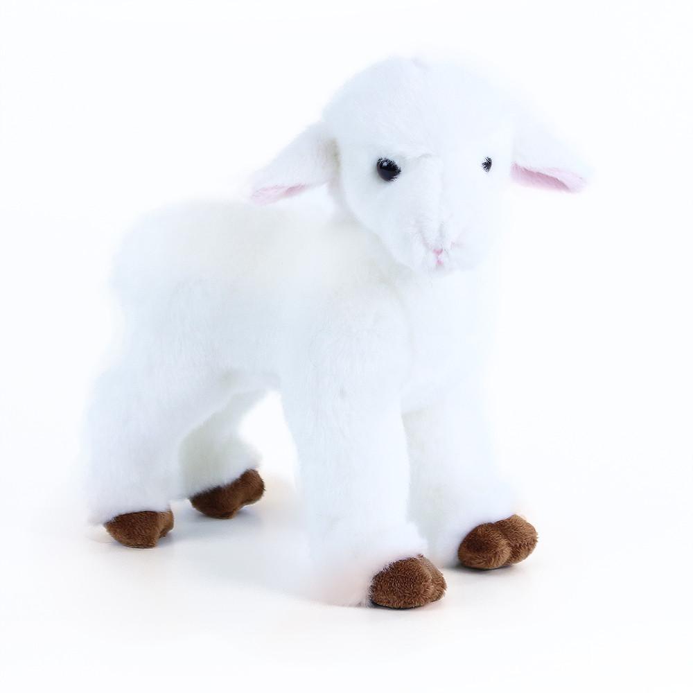 Plyšová ovce stojící, 23 cm