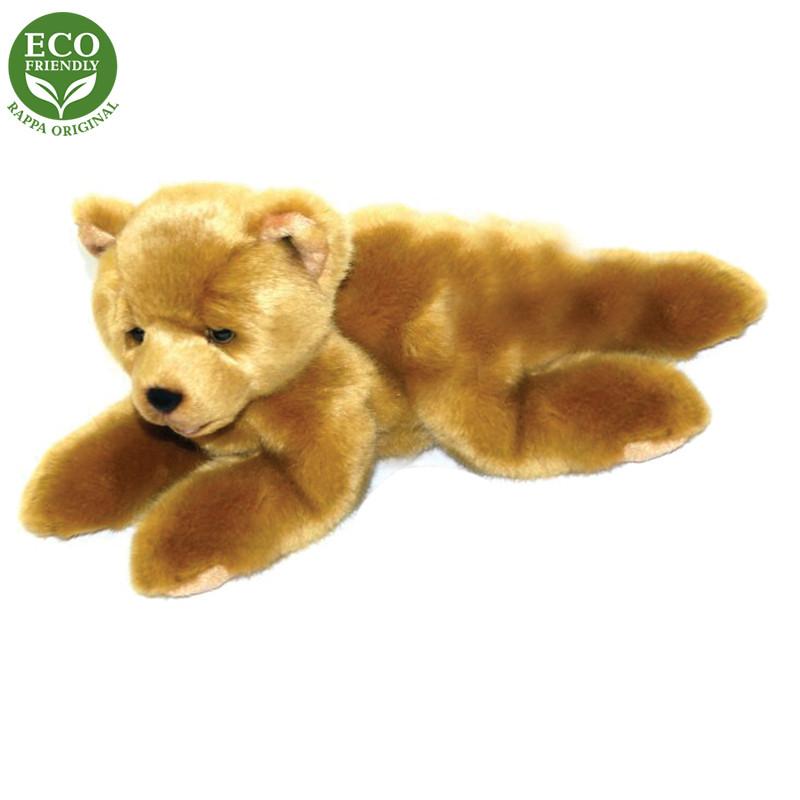 plyšový medvěd 15cm ležící, 2 druhy