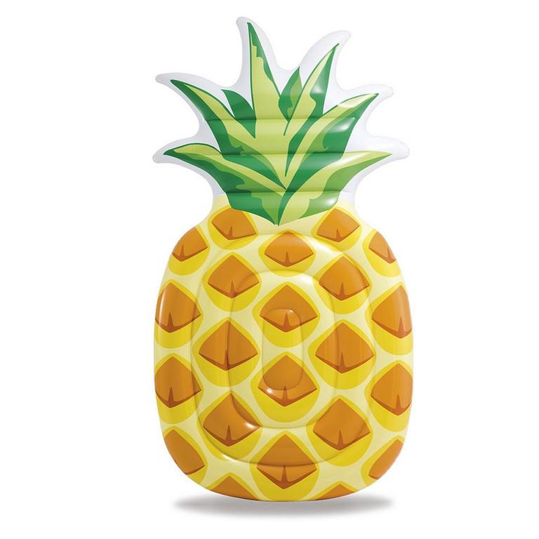 nafukovací lehátko ananas maxi 216 x 124 cm