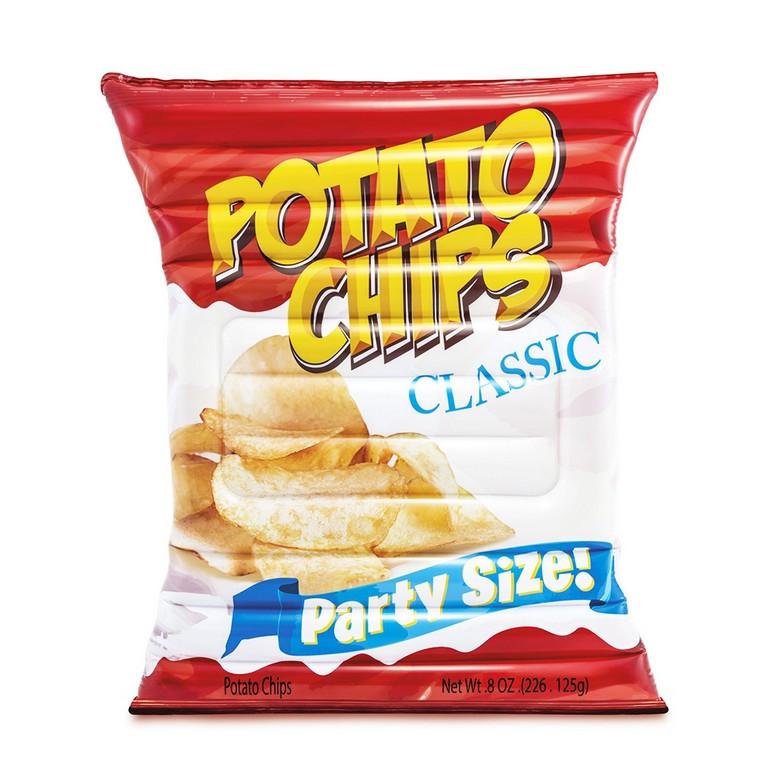 nafukovací lehátko chipsy 178 x 140 cm