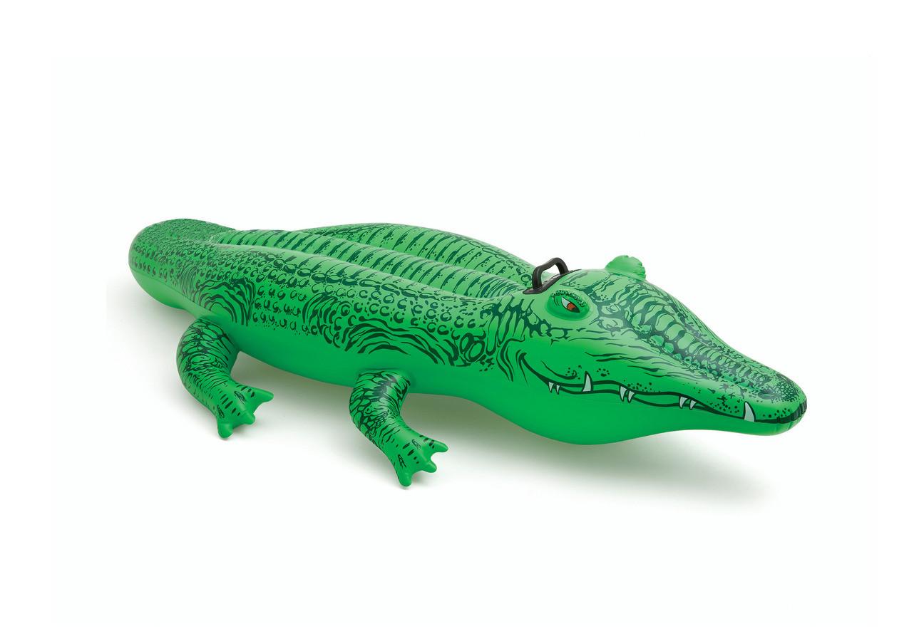 nafukovací hopsadlo krokodýl, 168 x 86 cm