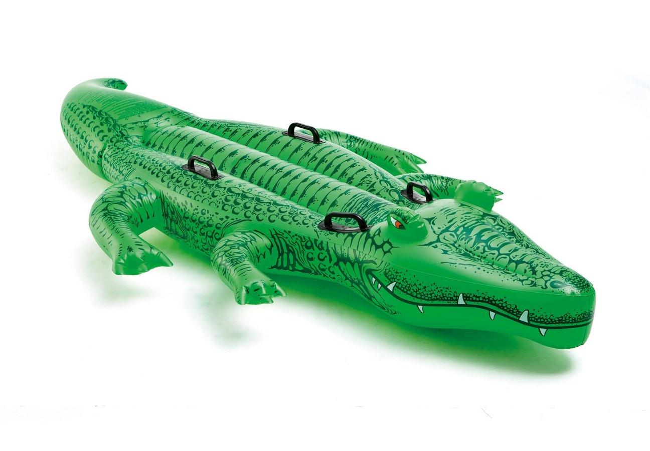 nafukovací krokodýl 203 x 114 cm od 3 let