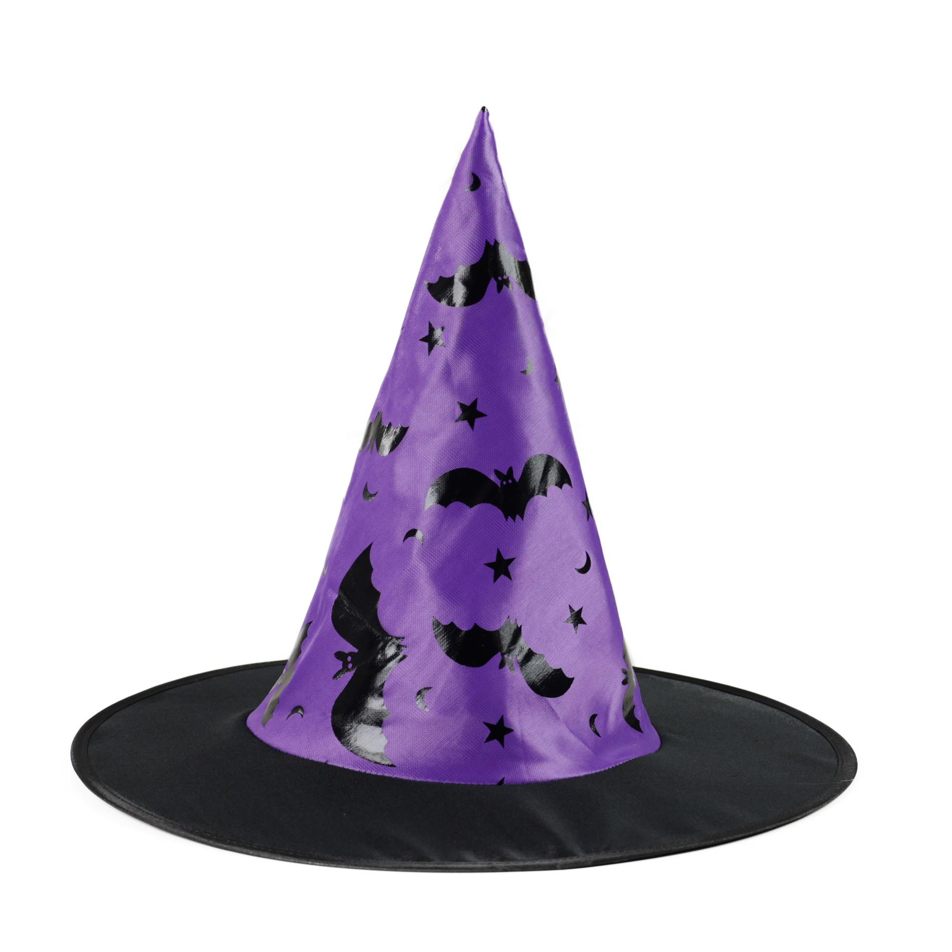klobouk čarodějnický netopýr