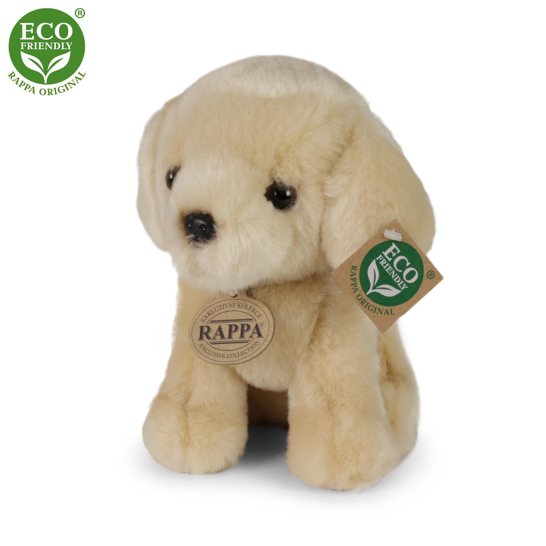 Plyšový pes labrador 18 cm ECO-FRIENDLY
