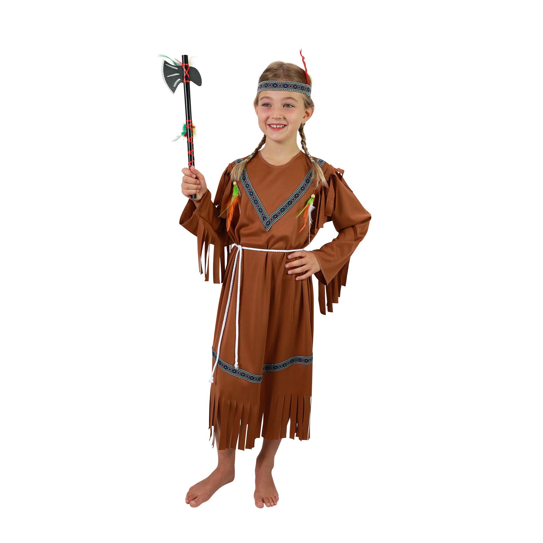 karnevalový kostým indiánka vel. S