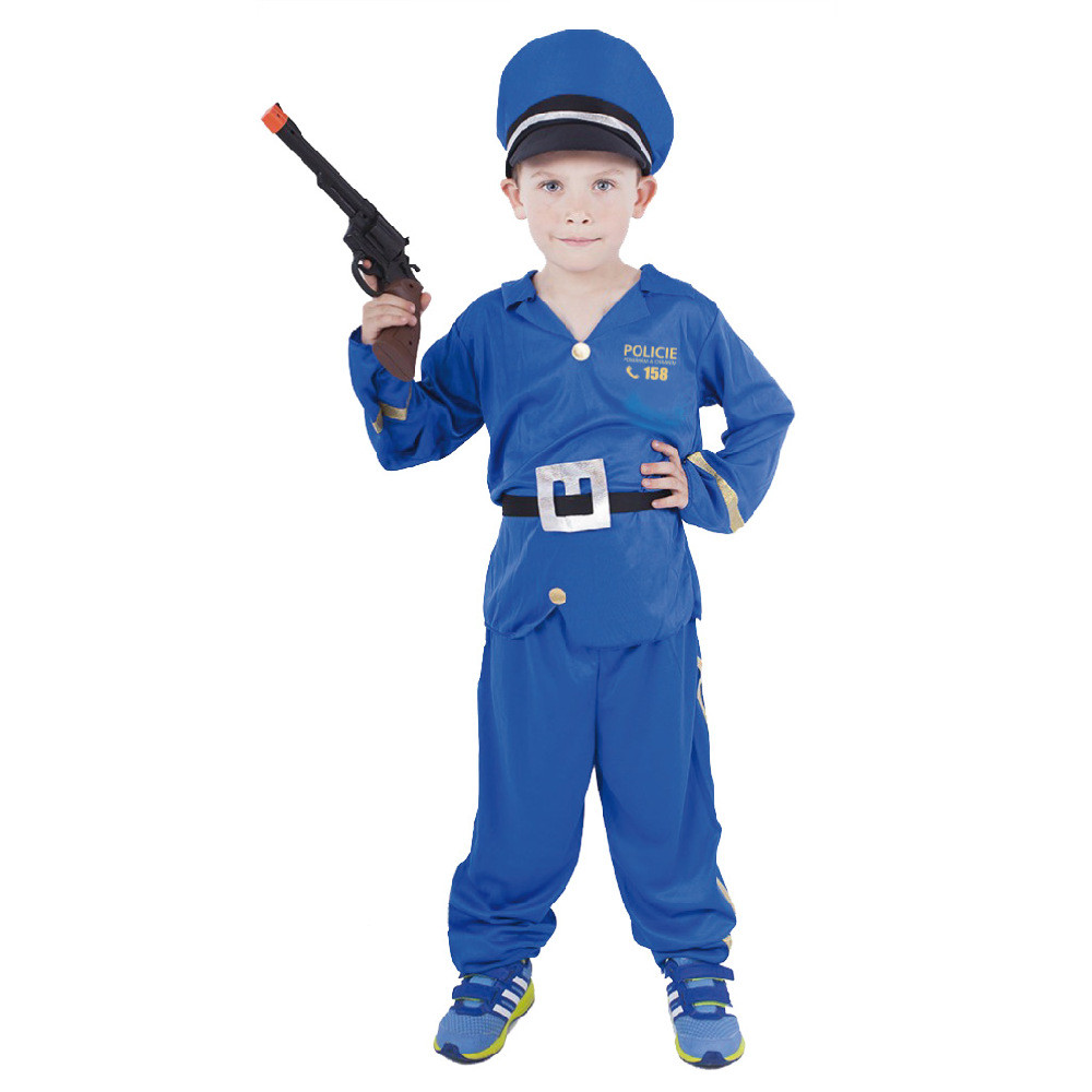 karnevalový kostým policista vel. M