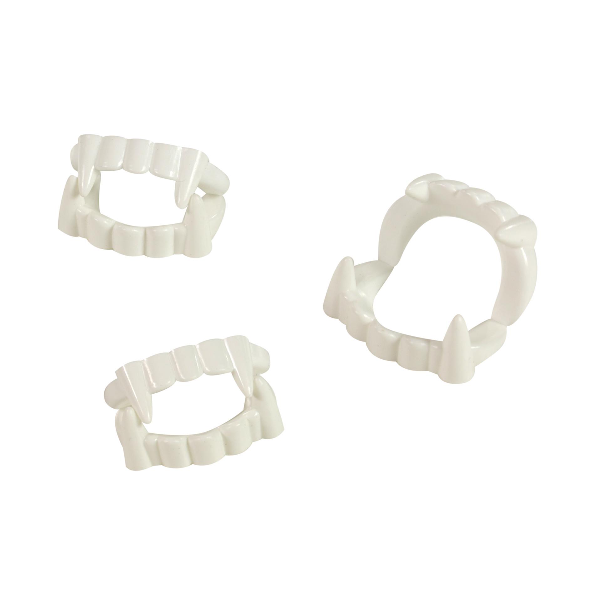 Zuby upíří karnevalové 3 ks v sáčku