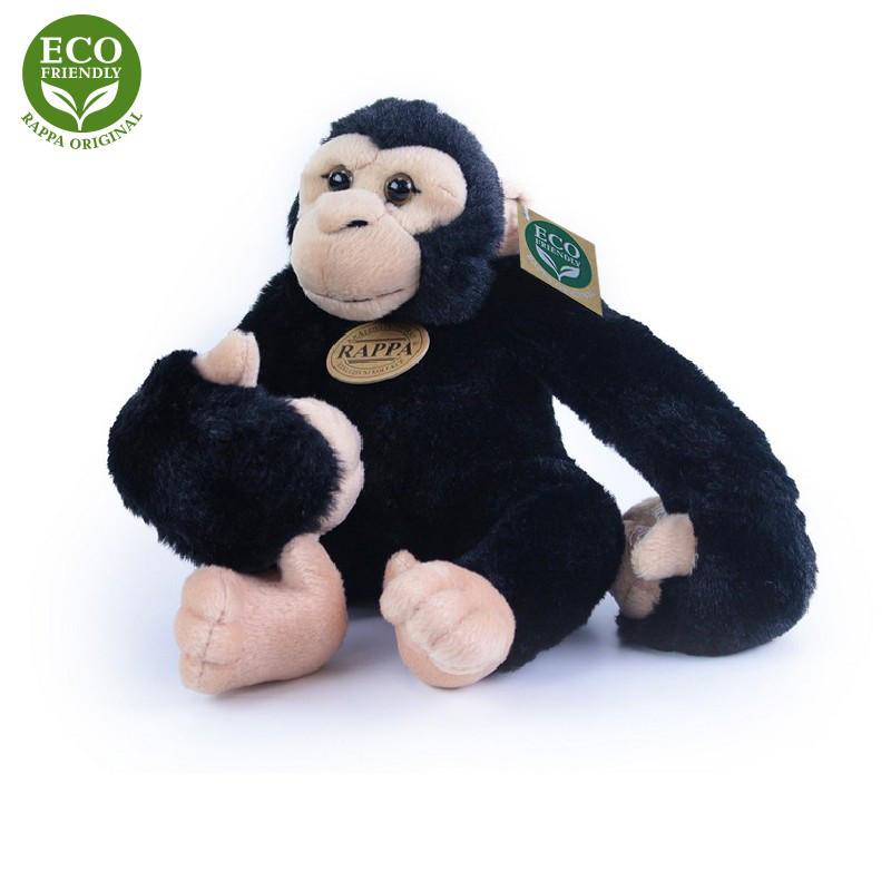 plyšová opice visící, 20 cm