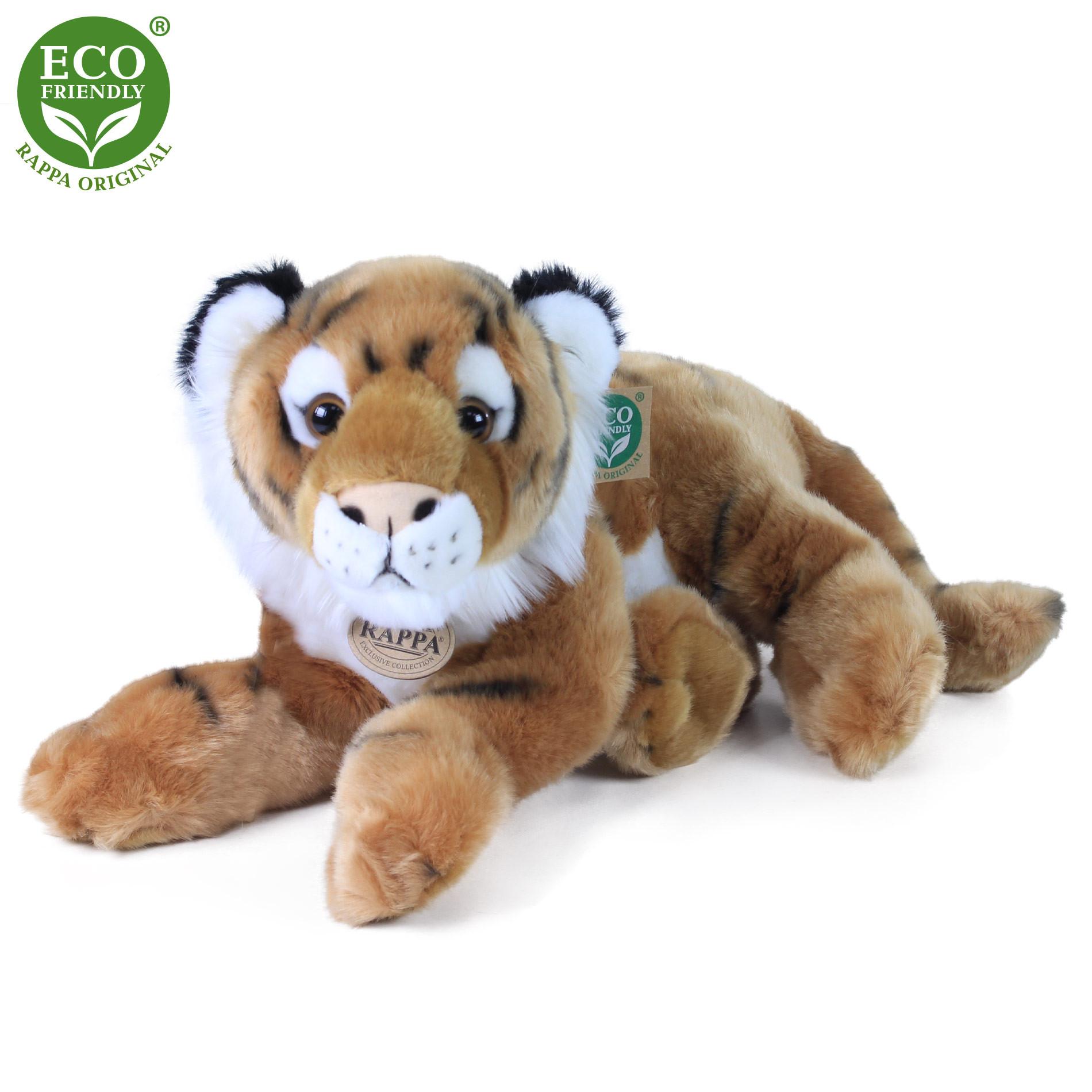 plyšový tygr ležící, 32 cm