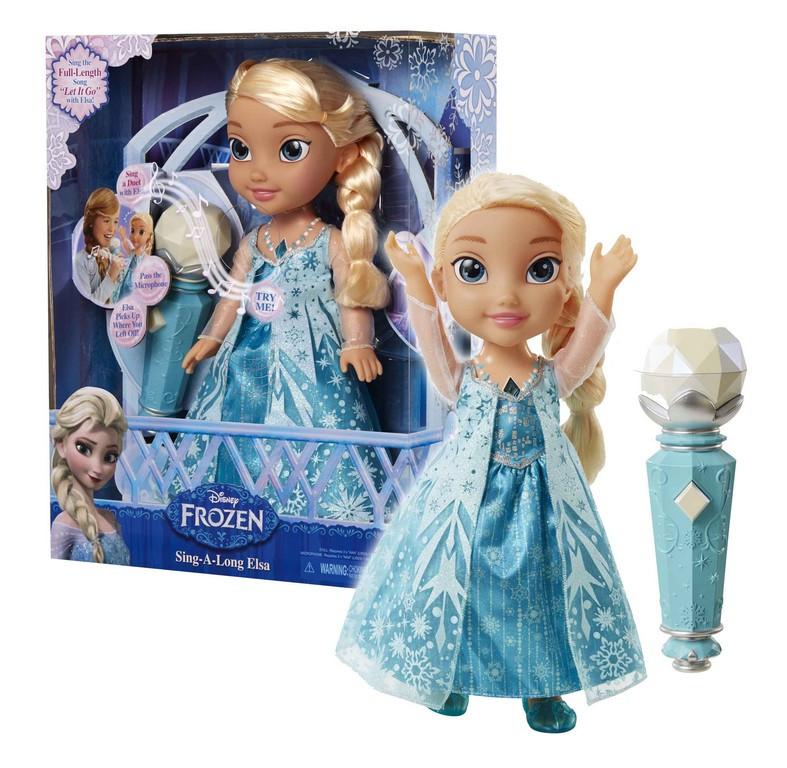 panenka zpívající Elsa karaoke FROZEN - Ledové království