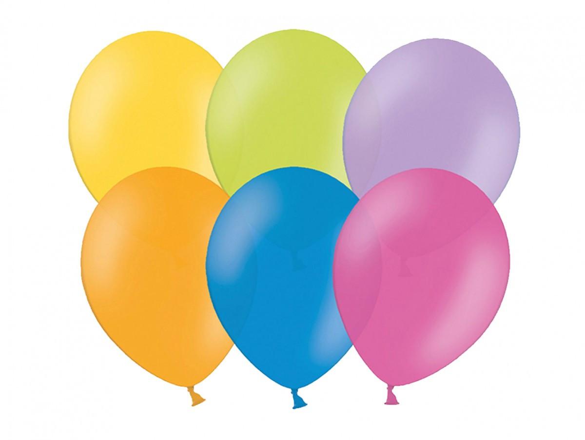 balónek nafukovací 25 cm 10 ks v sáčku