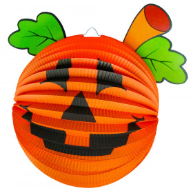 Lampion Halloween - dýně, 25 cm