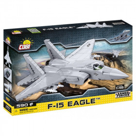 Stavebnice Armed Forces F-15 Eagle, 1:48, 590 k