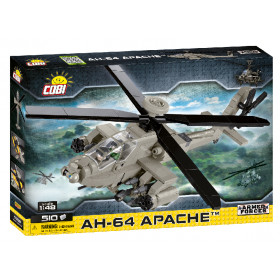 Stavebnice Armed Forces AH-64 Apache, 1:48, 510 k