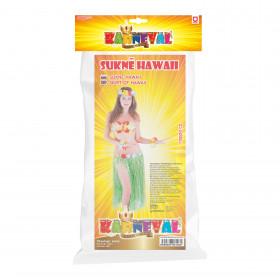 Sukně Hawaii zelená pro dospělé, 72 cm