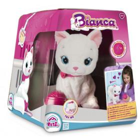 plyšová kočka Bianca – interaktivní kočička