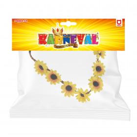 Čelenka květina žlutá