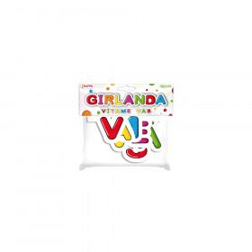 Girlanda papírová - VÍTÁME VÁS