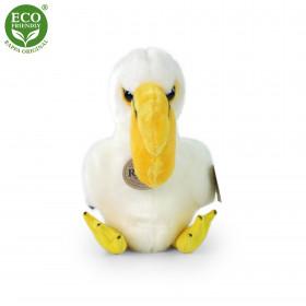 Plyšový pelikán sedící 20 cm ECO-FRIENDLY