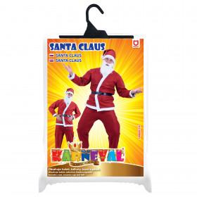 Kostým Santa Claus (bez vousů) pro dospělé