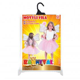 Dětský kostým tutu sukně s křídly