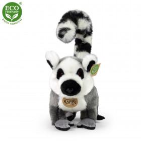 plyšový lemur stojící, 28 cm