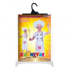 Dětský kostým Kuchařka (M)