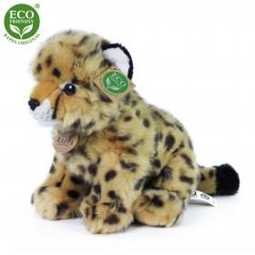 Plyšový gepard sedící 25 cm ECO-FRIENDLY