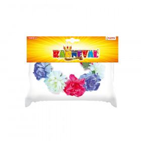 čelenka věnec s květinami barevný