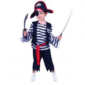 Dětský kostým pirát (M) e-obal