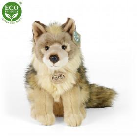 Plyšový kojot sedící 24 cm ECO-FRIENDLY