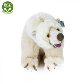 Plyšový lední medvěd sedící 43 cm ECO-FRIENDLY