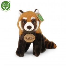 Plyšová panda červená 20 cm ECO-FRIENDLY