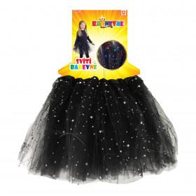 Sukně tutu svítící černá