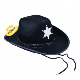 klobouk šerif pro dospělé